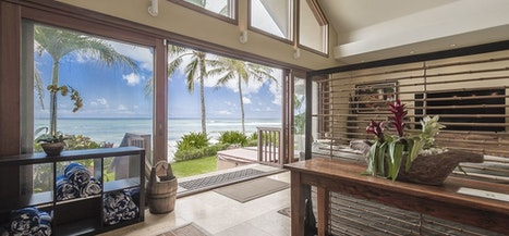 Aloha Beachfront Bliss Home