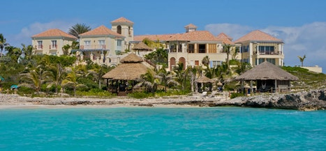 Beachfront Mansion