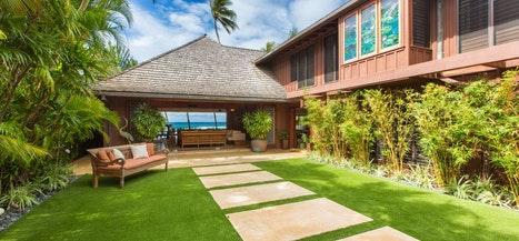 Villa on Diamond Head