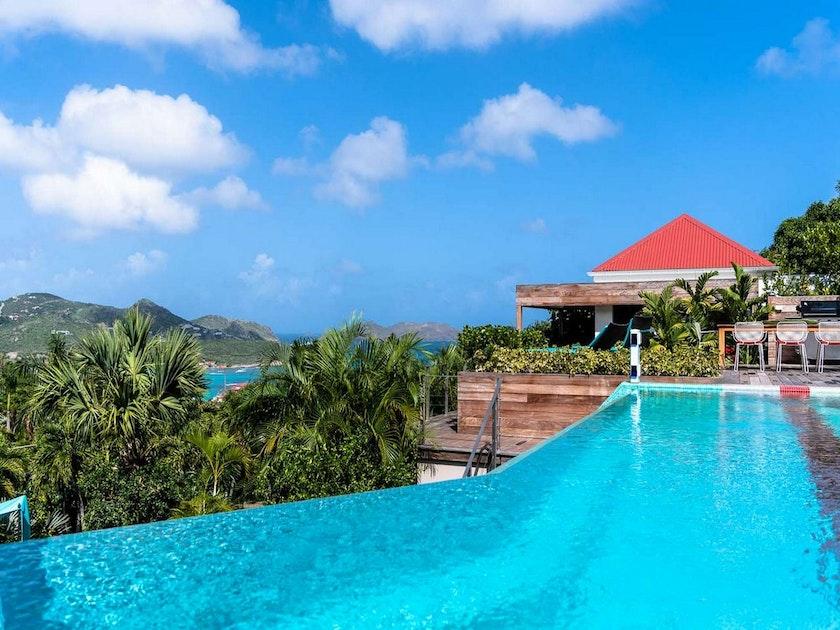St Barts Villas La Maison Rouge Caribbean Villas