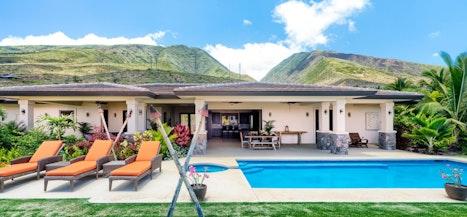 Maui Tiki View Villa